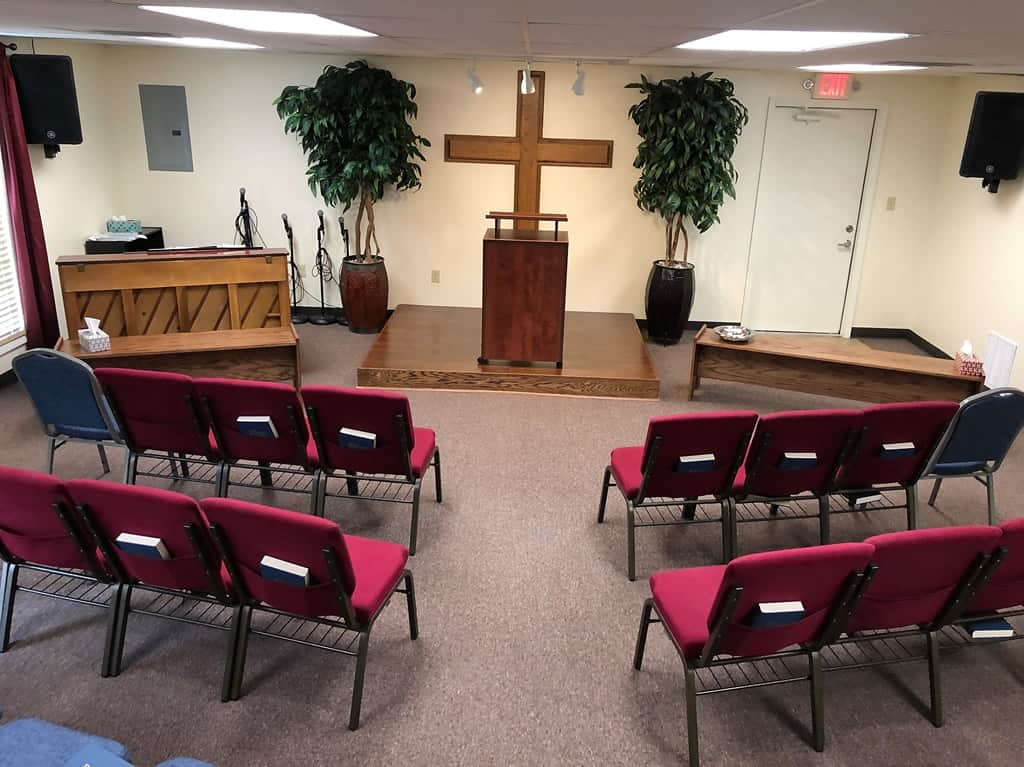 Liberty Baptist Church Auditorium